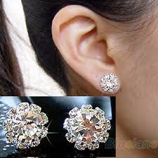 earrings brand 2013 brand new fashion spherical flower stud earrings for