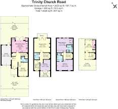 Harrods Floor Plan 5 Bedroom Semi Detached House For Sale In Trinity Church Road