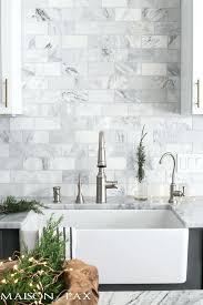 marble subway tile kitchen backsplash marble tile backsplash kitchen laurabrown co
