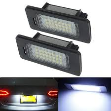 vw cc tail light bulb type error free 18 led license number plate light ls bulb fit for aud
