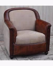 canapé daim cuir vieilli en daim brun vintage canapé industrielle meubles