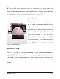 How To Have A Clean Bedroom How To Make Your Bedroom Seem Larger Through Furniture Arrangement