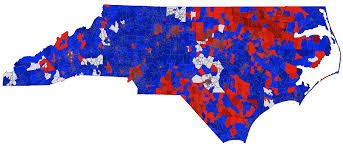 Presidential Election Map 2012 by North Carolina Election Results By Precinct