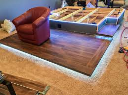how to build a home theater seating platform best home theater