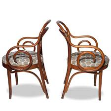 Bentwood Bistro Chair Shelby Williams Bentwood Bistro Arm Chairs Pair Chairish