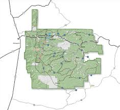Sac State Map Lincoln National Forest Districts