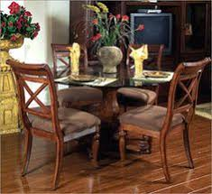 kathy ireland dining room set fairmont designs quadrants pedestal dining table an inspired room