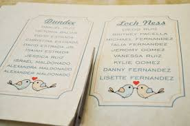 diy wedding seating chart mishmash e