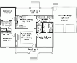 one story country house plans modest ideas single floor house plans one story ranch house plans