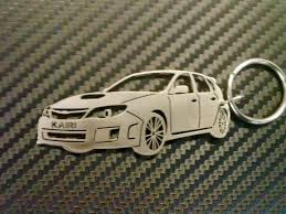 custom subaru wrx subaru wrx key chain car keychain personalized keychain