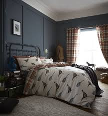 catherine lansfield stag double duvet set multi amazon co uk
