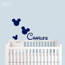 online shop micky mouse name wall sticker diy custom name wall online shop micky mouse name wall sticker diy custom name wall decal kids room children name wall decor baby nursery name wallpaper 501c aliexpress mobile