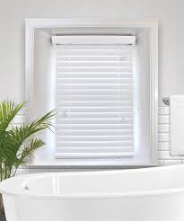 How To Measure For Faux Wood Blinds Snow White Made To Measure Faux Wood Venetian Blind
