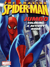 comic books u0027spider man coloring book u0027