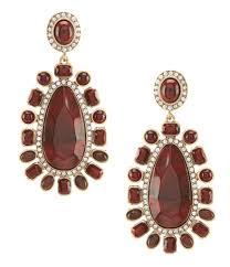 Gunmetal Chandelier Earrings Accessories Jewelry Earrings Dillards Com