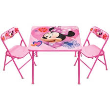 activity table and chairs disney s minnie mouse activity table chairs set kohls