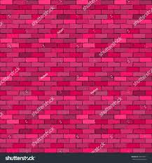 wall pink brickvector background old bricks stock vector 630730511