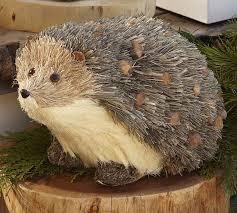 hedgehog woodland creature pottery barn