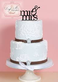 mrs and mrs cake topper mr mrs cake topper wedding cake topper