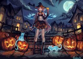 halloween wallpaper pumpkin paint
