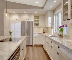 Recessed Lighting For Kitchen Kitchen Ideas Kitchen Transitional With White Kitchen Electric