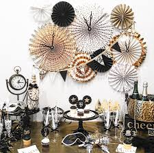 nye party kits new years party new year party decorations black and gold