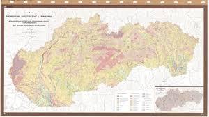 Slovakia Map National Soil Maps Eudasm Esdac European Commission