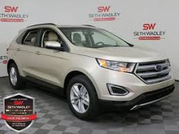 white ford edge ford edge for sale norman ok