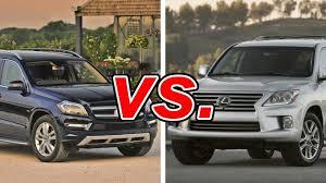 lexus better than mercedes mercedes gl450 vs lexus lx 570 carsdirect