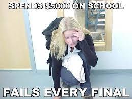 Meme Fail - exam fail quickmeme