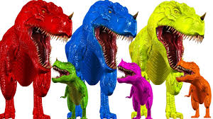 Color by Learn Colors With Dinosaurs Animals For Children Colors Animals