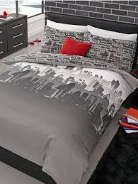 Catherine Lansfield Duvet Covers Catherine Lansfield Cityscape Easy Care Duvet Cover Set Very Co Uk