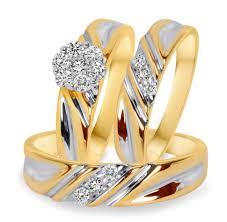 wedding rings trio sets for cheap wedding rings vintage bridal sets cheap wedding rings 100
