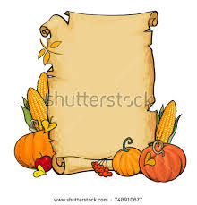 parchment paper scroll stock vector 713294443