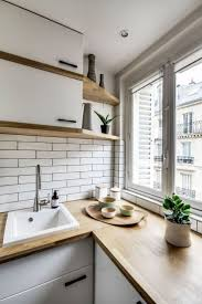 interior design windo wall small parisian apartment small