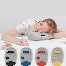 tracker and history of ostrich pillow mini comfortable desk rest arm glove pillow flight travel cushion sleep innovative office power nap pillow