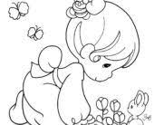 precious moments alphabet coloring pages coloring pages free printable precious moments coloring pages