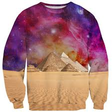 the great pyramid of pizza sweater shelfies