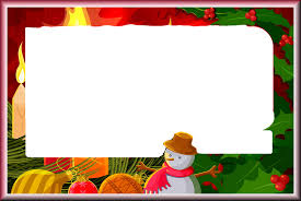 Christmas Tree Picture Frames Large Christmas Png Frame