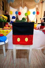 birthday chair cover mickey mouse table cloths mickey mouse birthday table cover mickey