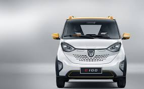 wuling logo saic gm wuling launches baojun e100 a 5 300 electric car
