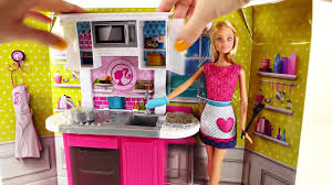 barbie deluxe kitchen cooking with peppa pig ooze play doh