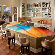 unique countertops home bar designs for the ultimate entertaining feature