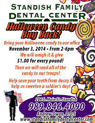 buy halloween candy standish family dental center office news