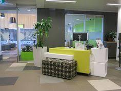 Customer Service Desk Reception Desk Cleveland Public Library Backlit Curved 3form