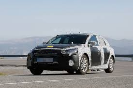ford focus new ford focus hatchback spied in spain engineers are poking