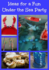 the sea party plan your own the sea party edventures with kids