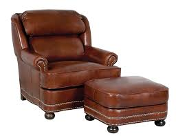 small leather chair with ottoman ottoman wt leather chair and ottoman hamilton classic