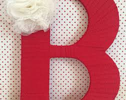red home decor etsy