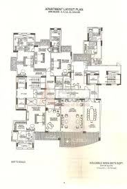 Floor Plan To Scale by Dlf Magnolias Floor Plan Floorplan In